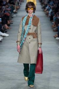 Sentimentos nostálgicos nas passarelas de Moda Internacional - Gucci