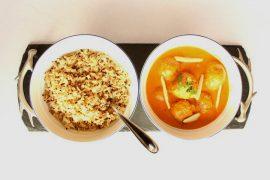 Curry de Falafel Vegano