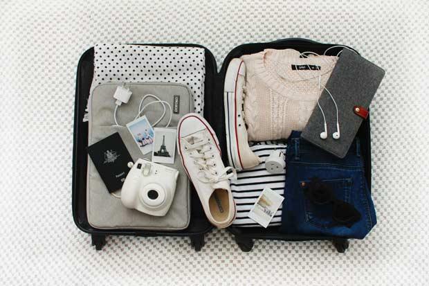 5 dicas para fazer a mala perfeita