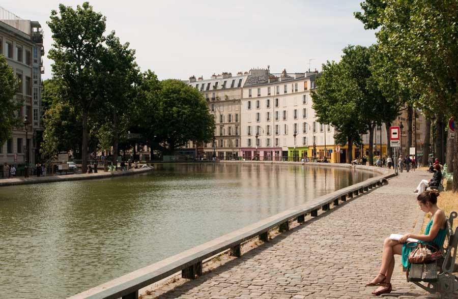 Guia cool de Paris - Canal Saint-Martin