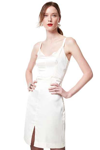 moda dos vestidos nude