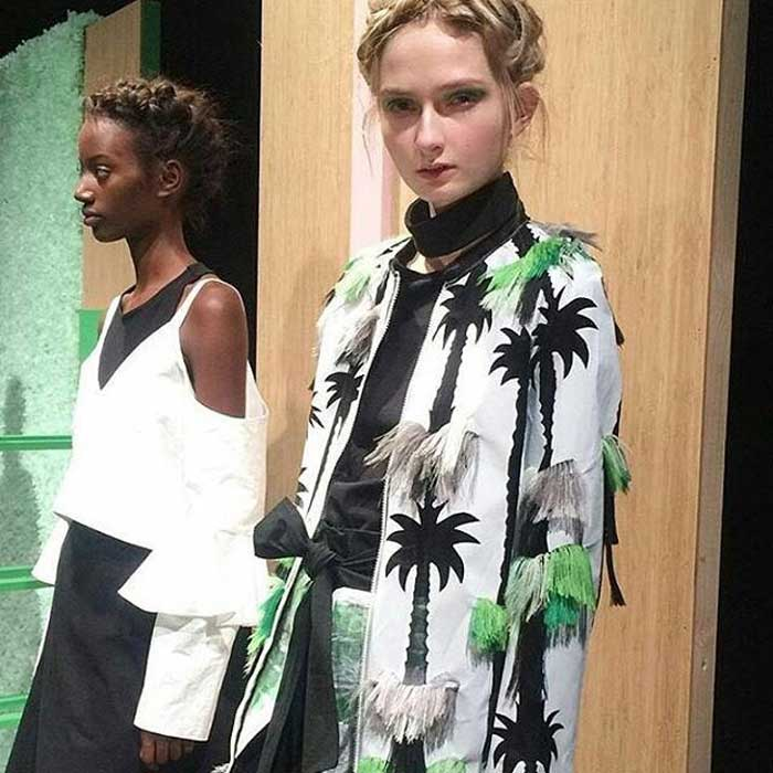 London Fashion Week - Danielle Romeril