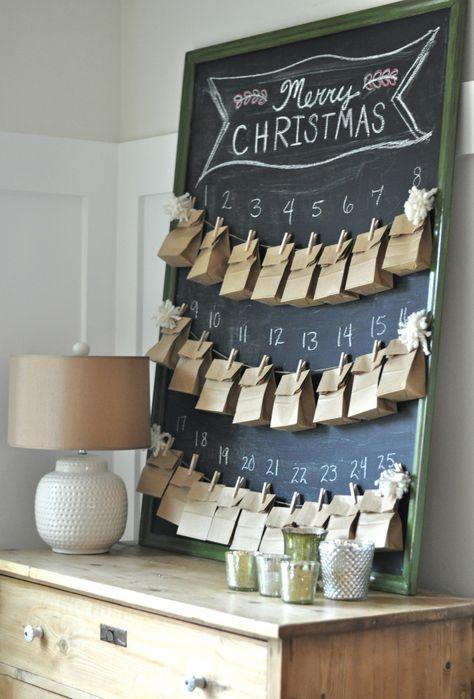 Tradições Natalinas na Inglaterra - Advent Calendar
