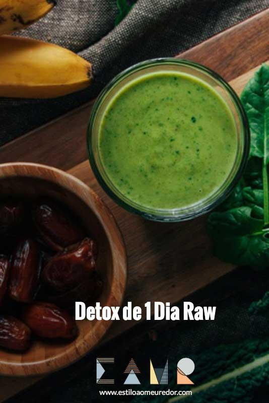 Detox de 1 Dia Raw   EAMR