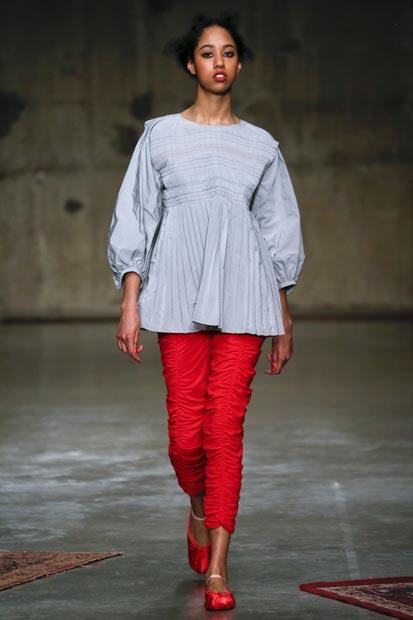 London Fashion Week 2017 - Molly Goddard | EAMR
