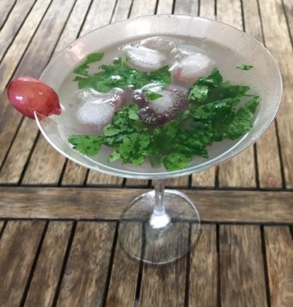 Drink da semana - Salad Bar, Drink com Rúcula e Uva Preta | EAMR