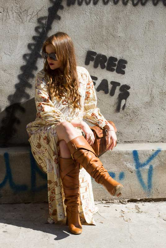 Look vintage com inspiração Gucci | EAMR Veste