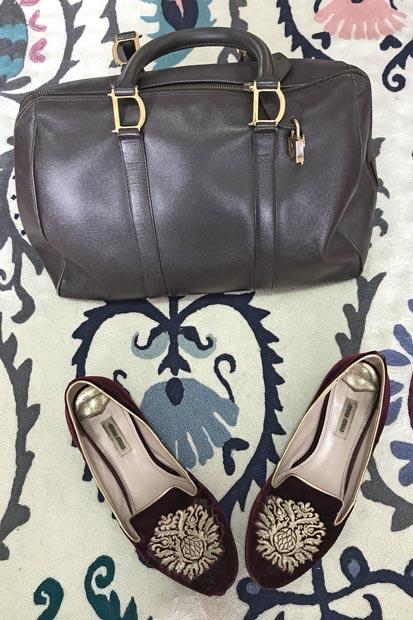 Como manter e cuidar de bolsas e sapatos vintage | EAMR