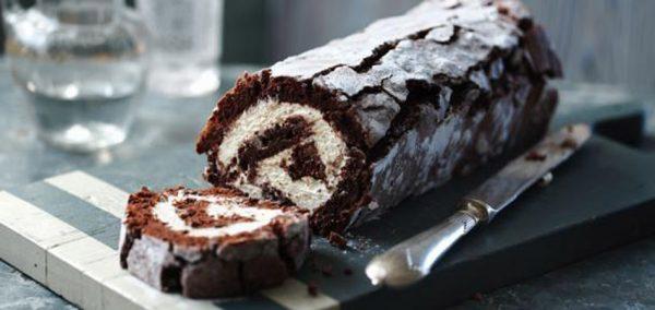 Receita de Rocambole de Chocolate – Receita de família