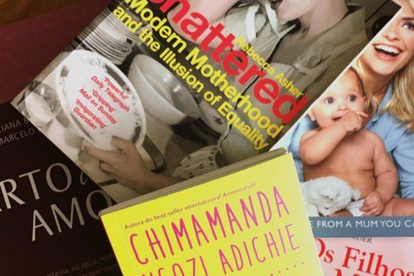 Livros para gestantes: os 5 livros de maternidade que me ajudaram a superar a gravidez e o início da maternidade!