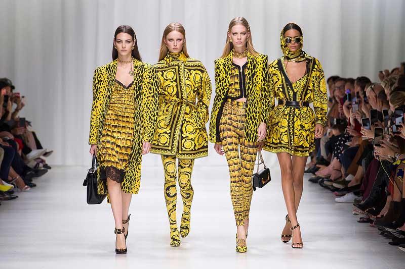 Sentimentos nostálgicos nas passarelas de moda internacional 2018