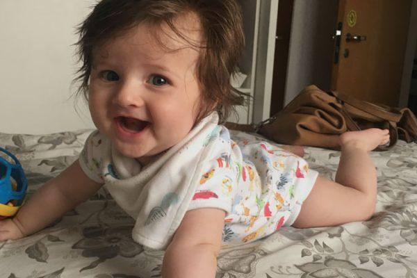 5 de 5! As 5 coisas que aprendi no quinto mês do bebê