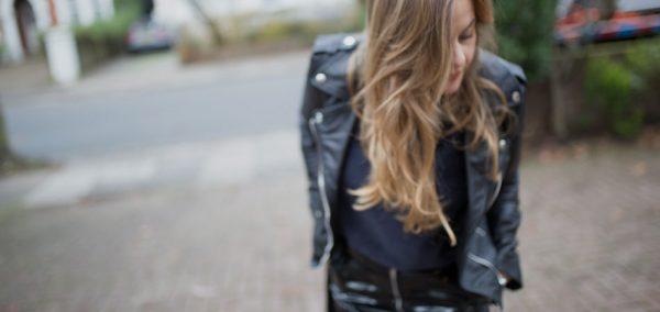 EAMR Veste | Tendência inverno 2018 - Verniz e um clássico - Jaqueta Biker