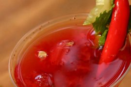 Drink da Semana - Cor do Pecado (drink com pimenta) | EAMR