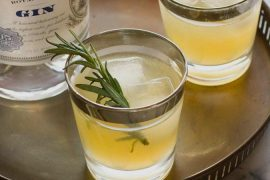Receita de coquetel com espumante, gim e gengibre: Um aperitivo perfeito   EAMR