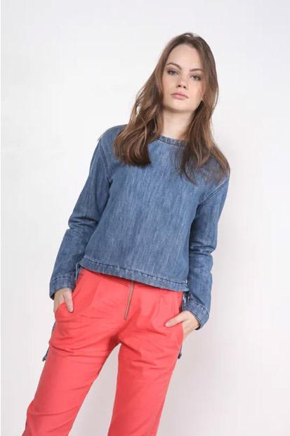 EAMR Favoritos Junho - Minimalismo é a palavra! Camisa jeans