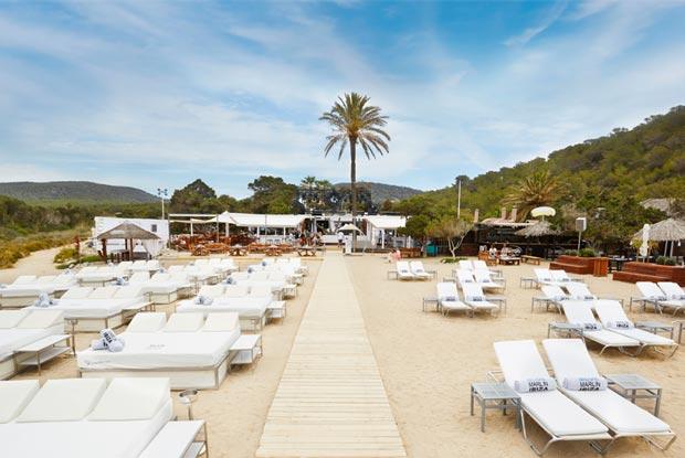 Beach club Blue Marlin em Ibiza