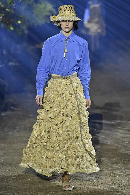 Christian Dior na PFW Primavera / Verão 2020