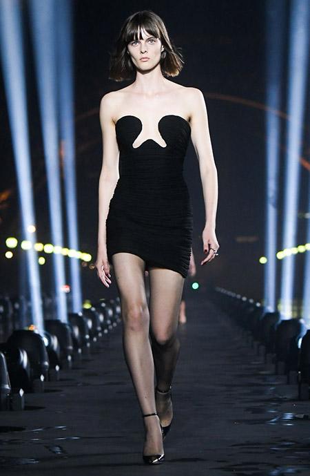 Saint Laurent na Semana de Moda de Paris  Primavera / Verão 2020