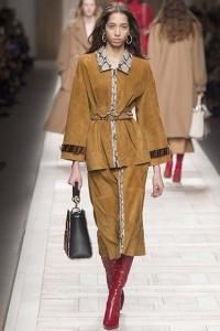 Fendi | Semana de Moda de Milão | Outono Inverno 2017