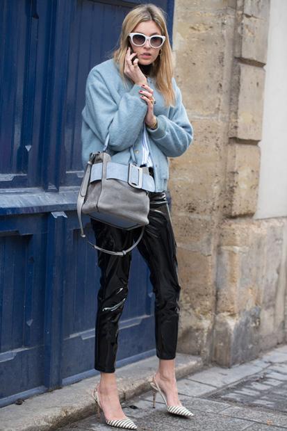 Street Style Paris Fashion Week   Outono Inverno 2017