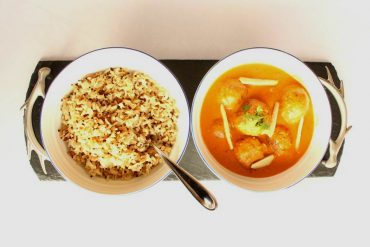 Curry de Falafel Vegano