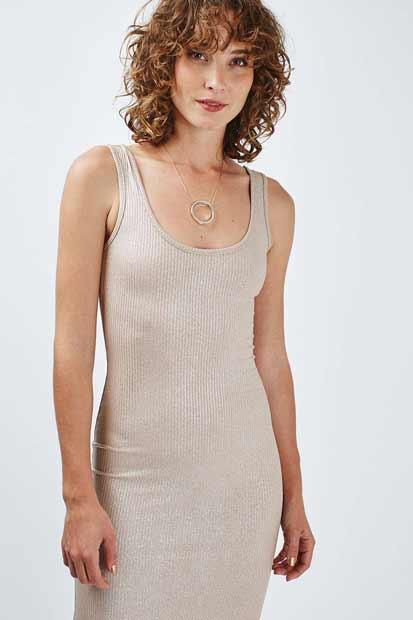 moda vestidos nude