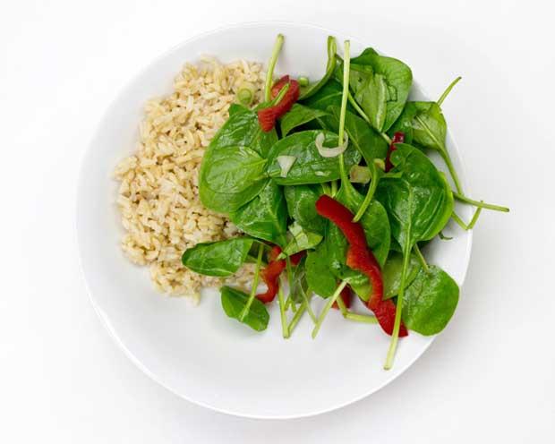 receita saudável e prática Buddha-Bowl