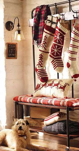 Tradições Natalinas na Inglaterra - Christmas Stocking
