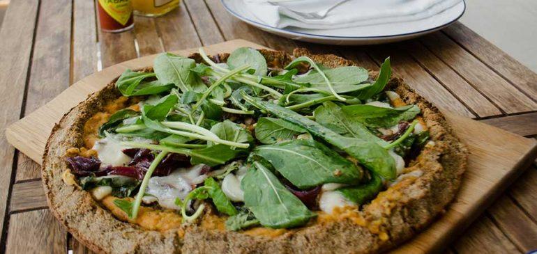 Pizza com massa de couve flor | EAMR