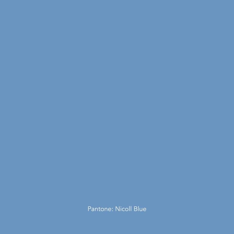 Um tributo em forma de cor para Richard Nicoll