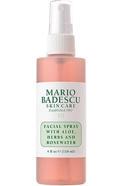 EAMR Favoritos de junho: cuidados de beleza, moda e comidinhas! - Facial Spray de Mario Badescu