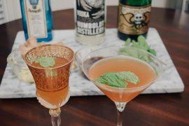 Drink com champagne e gengibre: Beijo Francês (receita da Shannon do Champagne at Shannon's)