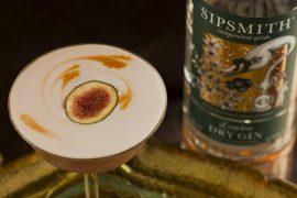 Drink da semana: Coquetel de gin e figo SipsmithO 'Fig-et Me Not' Sour