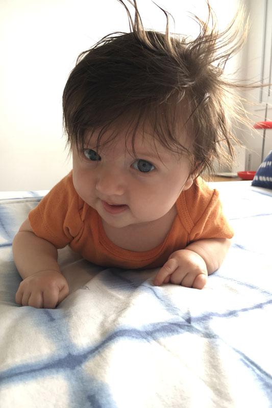 3 meses Gaélicos - o que aprendi até o terceiro mês do bebê | EAMR