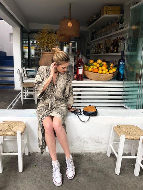 EAMR Veste: Look com o vestido que faz tudo