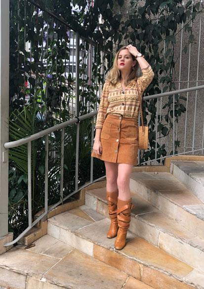 Como eu shop meu guarda roupa: Look Retrô anos 60 - Estilo ao Meu Redor por Eliza Rinaldi