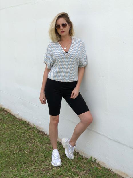 4 grownup ways to wear the cycling shorts trend | Estilo ao Meu Redor por Eliza Rinaldi