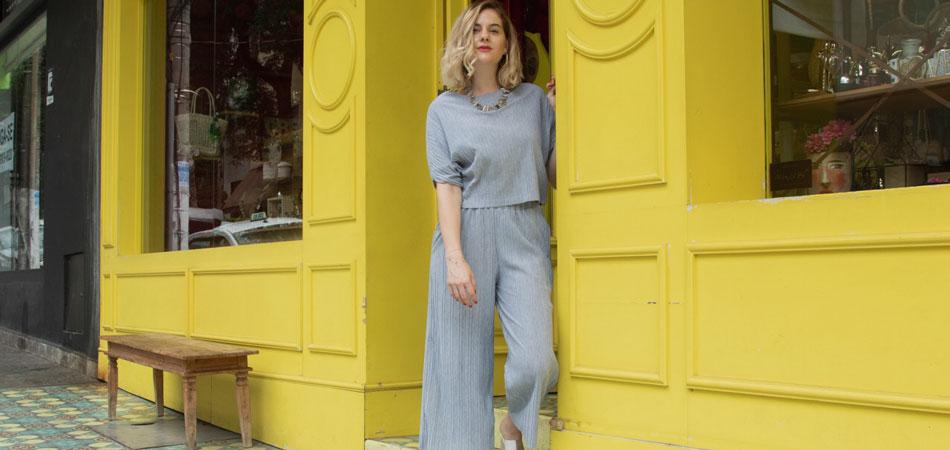 EAMR Desafio de sustentabilidade: Usar um look completo apenas com roupas que não uso há mais de um ano, por uma semana!