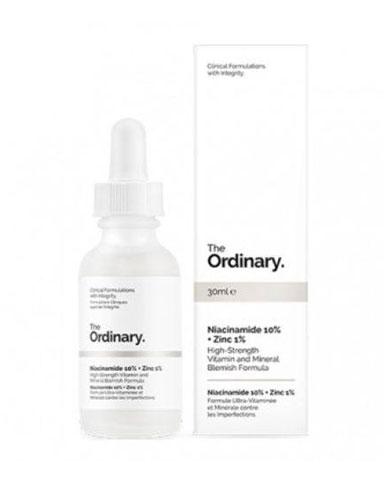 EAMR: Conheça a Niacinamida e seus  benefícios para a pele - The Ordinary Niacinamide 10% + Zinc PCA 1%