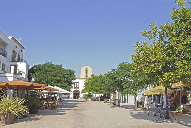 Uma semana em Ibiza - povoado Santa Gertrudis