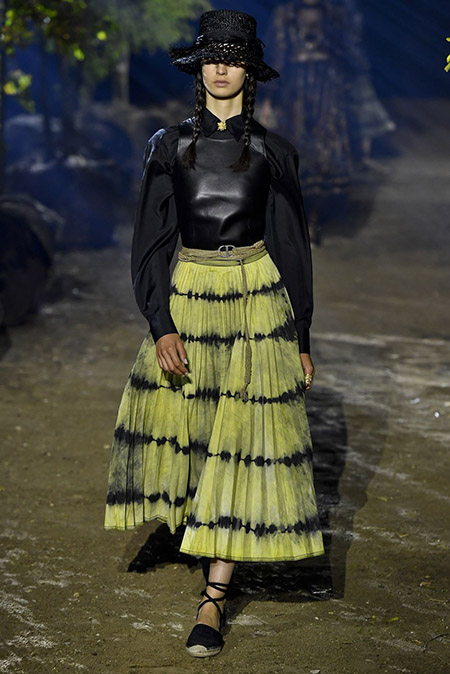 Christian Dior na Semana de Moda de Paris  Primavera / Verão 2020