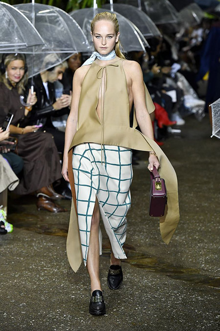 Lanvin na Semana de Moda de Paris  Primavera / Verão 2020