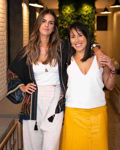 Karla Mello e Ana Camila Pires sócias do MY YOGA
