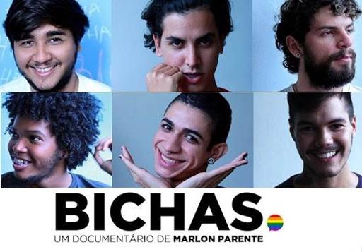 Representatividade LGBTQIA+ nas séries: cartaz de Bichas, o documentário