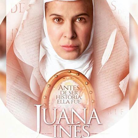 Representatividade LGBTQIA+ nas séries: cartaz de Juana Inés