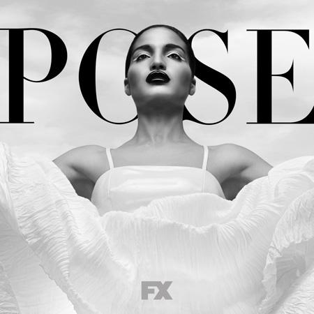 Representatividade LGBTQIA+ nas séries: cartaz de Pose